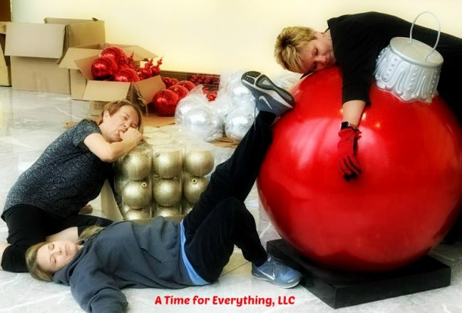 Exhaustion after the season A Time for Everything, LLC ReAnn Ring