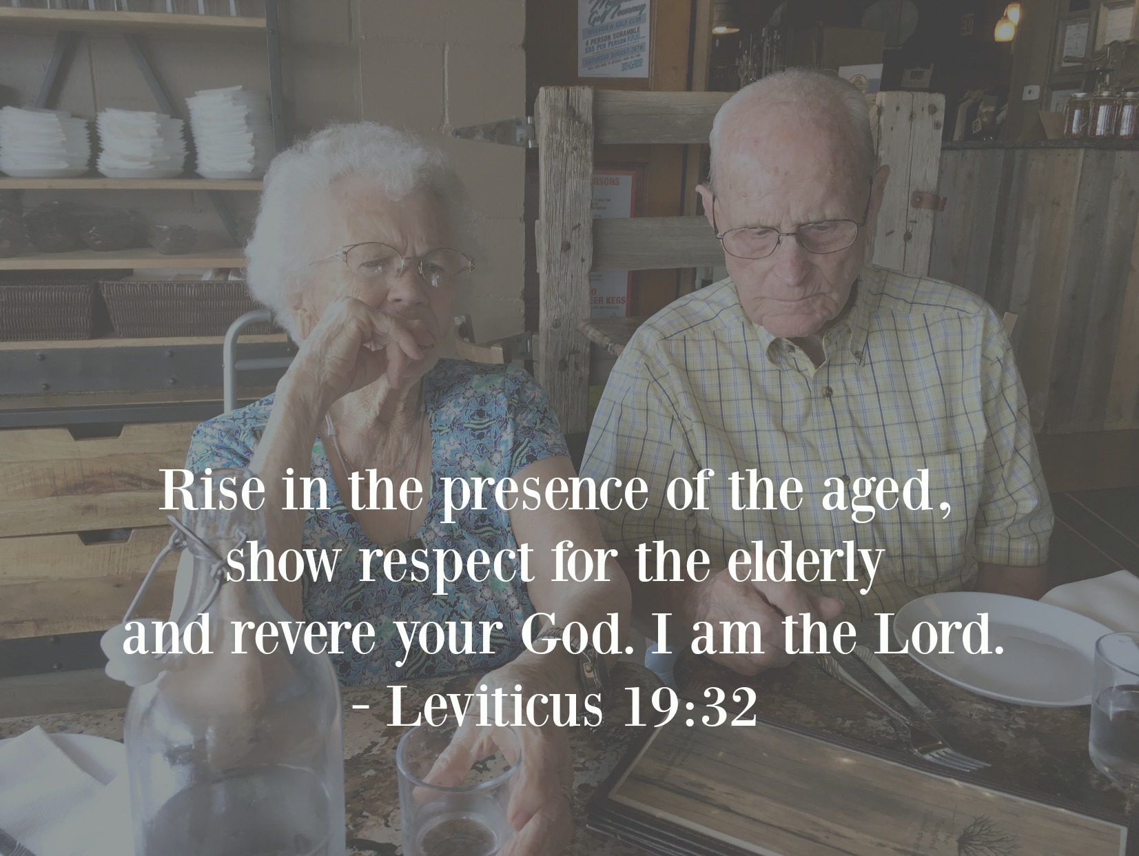 Leviticus Elderly
