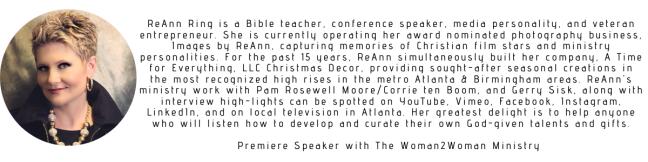 ReAnn Ring Banner - Premier Speaker Bio